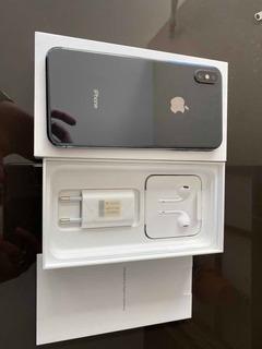 iPhone XS Max 512gb, Cinza, Só R$ 5.000 No Dinheiro