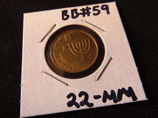 Bb#59 Moneda Del Mundo Israel Agorot 10 Centimos De Shekel