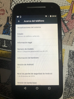 Celular Moto E E2 8gb Gris Libre Mercadopago Mercadoenvios