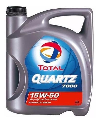 Aceite Semi-sintético Quartz 7000 10w-40 4 Lts Total - Tyt