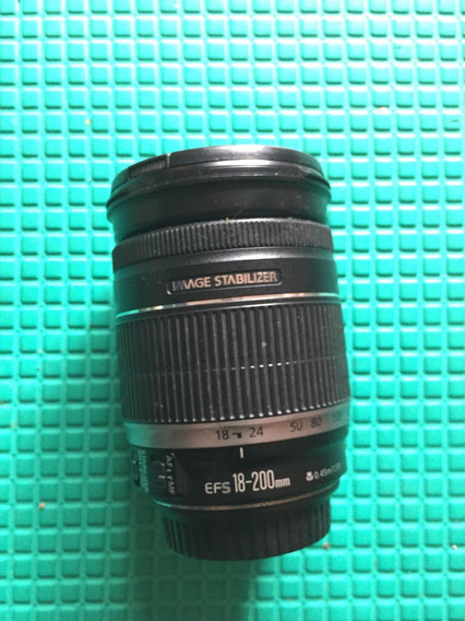 Lente Canon Ef-s 18-200 F/3.5-5.6