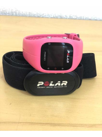 Relógio Monitor Cardiaco Polar A300 + Cinta - Usado