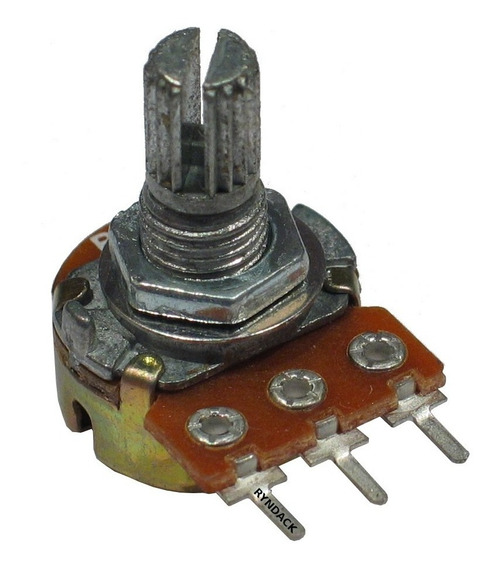 10 Peças * Potenciômetro Linear 50k¿ L15 Mini Wh148-1