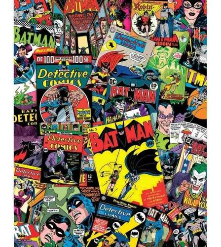 Rompecabezas Batman En  Collage Original 1000 Piezas