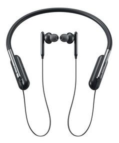Fone Original Samsung Bluetooth Ear Level U Flex Preto