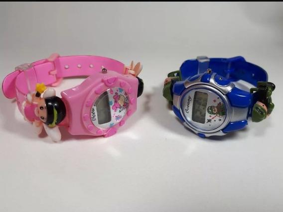 Relógio Infantil Digital Personagens Bebê Criança