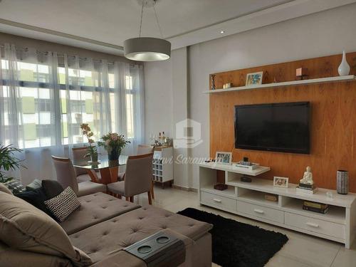 Imagem 1 de 20 de Apartamento Com 3 Dormitórios À Venda, 87 M² Por R$ 580.000,00 - Icaraí - Niterói/rj - Ap1015
