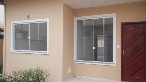 Ótima Casa Com 2 Dormitórios À Venda, 70 M² Por R$ 265.000,00 - Extensão Do Bosque - Rio Das Ostras/rj - Ca0867