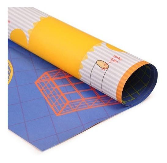 Cartulina Entretenida Muresco. Geométricas. Hojas 50x65 Cm