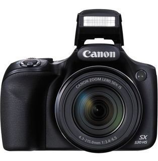 Camara Canon Sx530 Hs Fullhd De 16 Megas 50x De Zoom Wifi