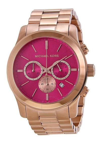 Relógio Michael Kors Mk5931 Runway Pink - Caixa