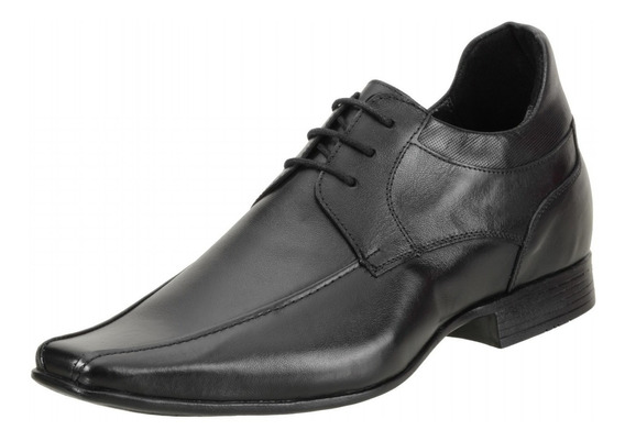 Sapato Social Masculino Dududias Vc 6 Cm + Alto Couro - 6502