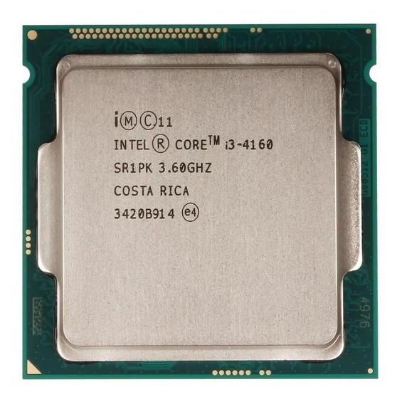 Processador Intel Core I3 4160 3.6ghz - Lga 1150