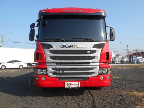 Imagem 1 de 15 de Scania P 310 2016 8x2 Completa Unico Dono