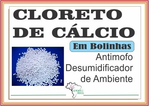 Cloreto De Cálcio Bolinhas (pellests) Anti-mofo - Refil 1 Kg