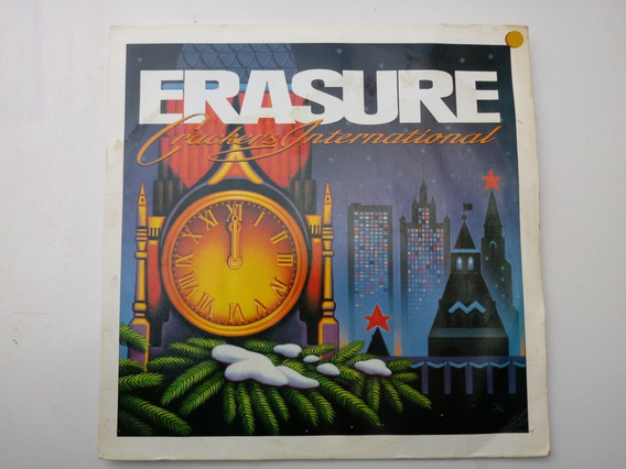 Lp Erasure Crackers International 1989 P/colecionador