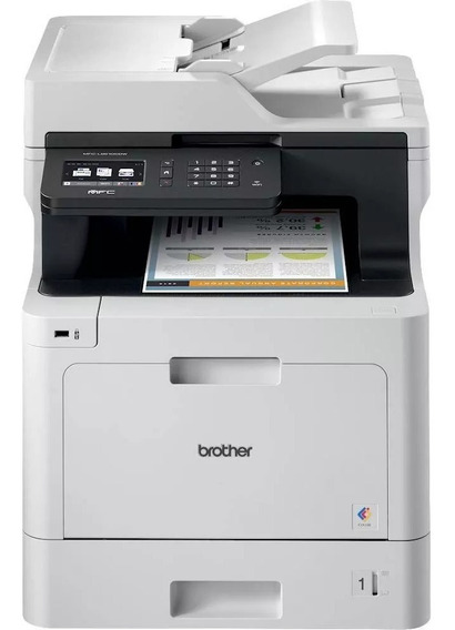 Multifuncional Brother Colorida Mfc-l8610cdw L8610 L8610cdw