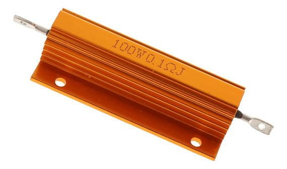 Chassis De Alumínio Do Resistor De 100w Watt De 0,1 Ohm Mon