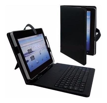 Kit 190 Capas Kds Tablet 10 Polegadas Teclado Português Usb