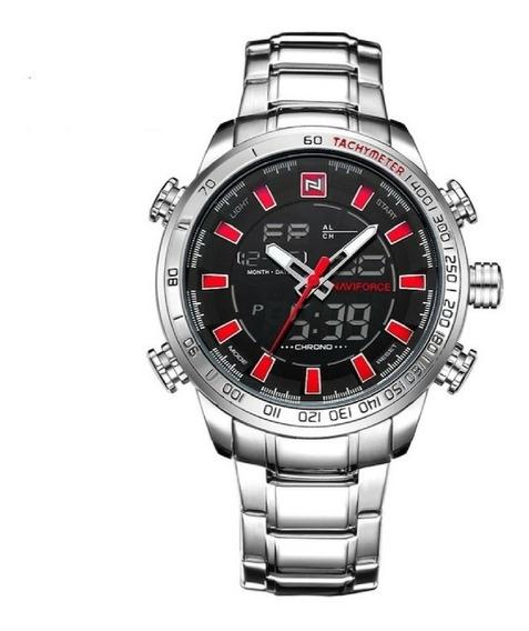 Relógio Naviforce Digital E Analógico Modelo 9093