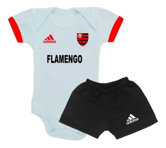 Body Do Flamengo Personalizado - Roupinha De Bebê