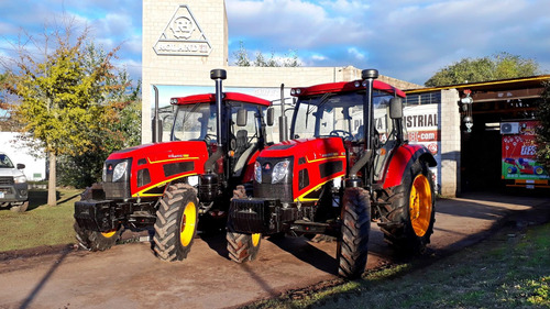 Imagen 1 de 10 de Tractor Roland H130 4x4 Con Cabina 6 Cilindros Turbo