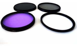 Kit De Filtros Lentes 67mm Uv + Cpl + Nd4 +fld Accesorios