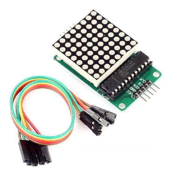 Módulo Matriz De Led 8x8 Com Max7219 Arduino