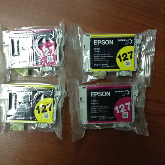 Cartucho Epson 127 Original Y Nuevo En Su Empaque