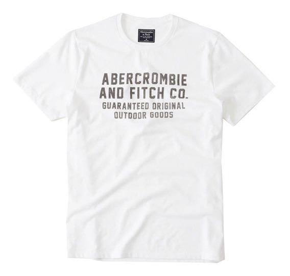 Playera Abercrombie & Fitch Printed 123-238-2227-100