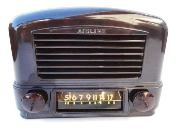 Rádio Valvulado Airline/sharp: 54br-1501a.
