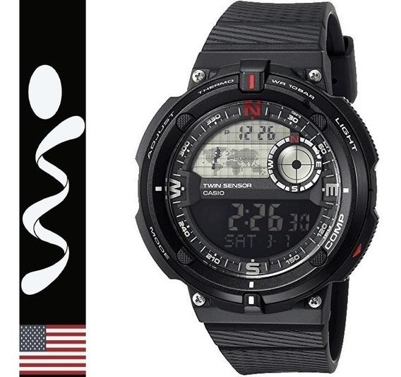 Reloj Casio Sport Sgw-600 Termometro Brujula 100% Original