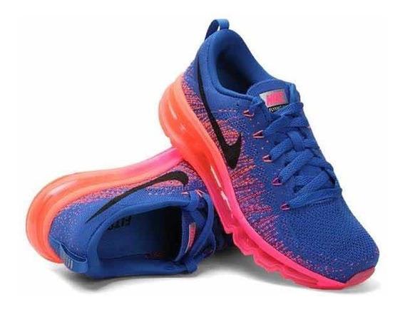 Tênis Nike Flyknit Max Feminino