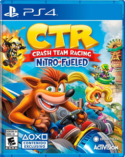 Juego Crash Team Racing Ps4 Nitro Fueled