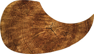 Escudo Palheteira Resinada Violão Aço Hard Wood