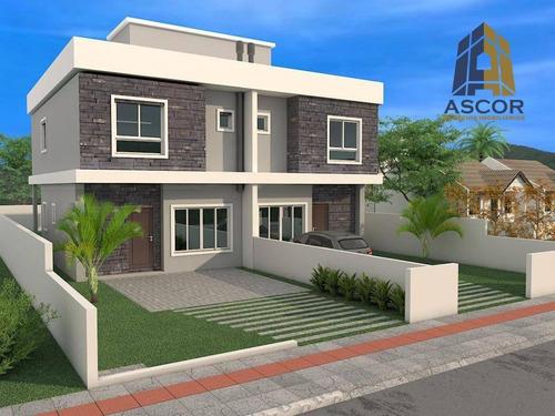 Imagem 1 de 3 de Casa Com 3 Dormitórios À Venda, 127 M² Por R$ 865.000,00 - Cachoeira Do Bom Jesus - Florianópolis/sc - Ca0287
