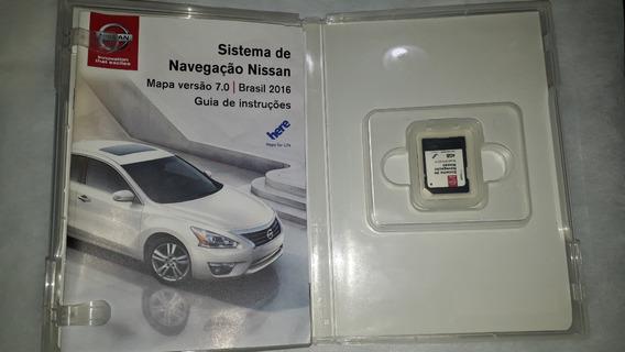 Sistema Navegação Nissan Mapa Versão 7.0 Original Brprt10673
