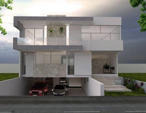 Residencia En Pre - Venta A Estrenar En Villa Verona, Guadalajara