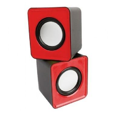 Caixa Som Mini ( 6w) (vermelho) (usb) Pisc)(1862)