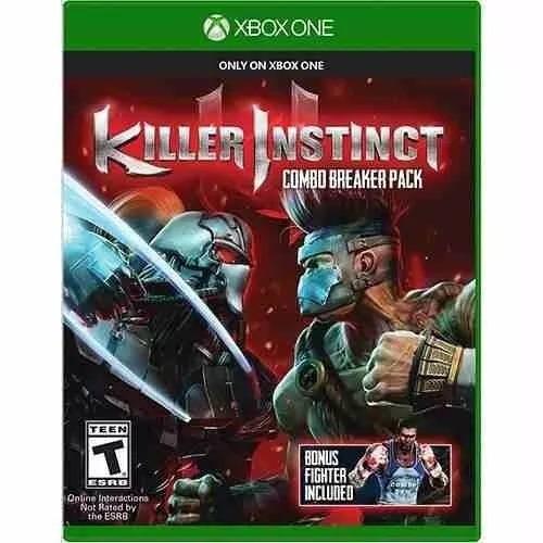 Jogo Killer Instinct Combo Breaker Xbox One Midia Fisica