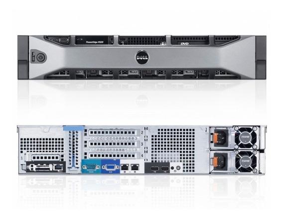 Servidor Dell R520-96gb Ram, 2 X 600gb 10k, Fonte Redudante