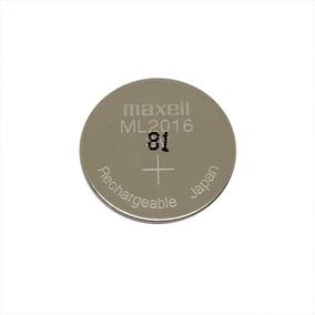 Bateria Recarregável Ml2016 De 3v