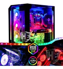 Fita Led Digital Endereçavel Rgb 2m Sync Pc Gamer Fusion Top