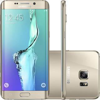 Samsung Galaxy S6 Edge Plus G928g 32gb Dourado Mancha Tela