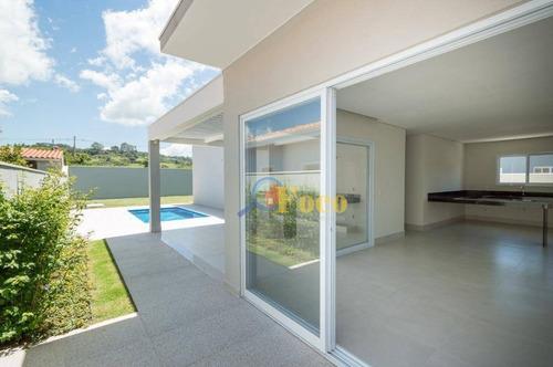 Casa Com 3 Dormitórios À Venda, 200 M² Por R$ 890.000,00 - Condomínio Bosque Dos Pires - Itatiba/sp - Ca1014