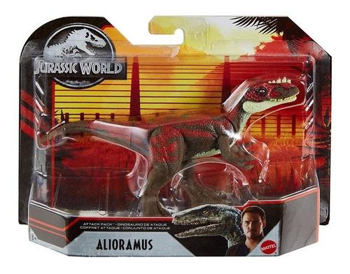 Dinosaurios Jurassic World Attack 1pk Juguetes Mattel