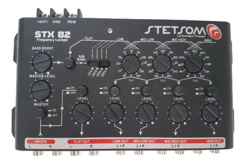 Crossover Stetsom Stx82 2 Entradas 8 Saídas 5 Vias Subsonico