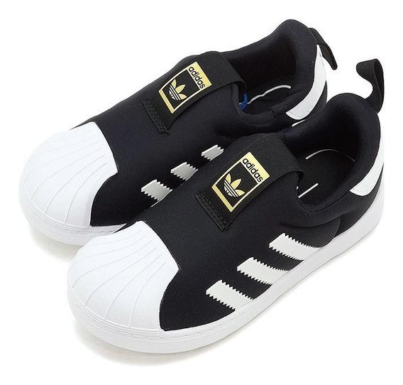 Zapatillas adidas 360 Negras Niños 100% Originals Envío Grat