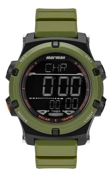 Relógio Digital Mormaii Action Verde Mo1192ad/8v