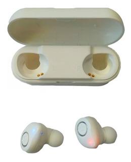 Blanco Bluetooth Libre De Auriculares 5.0 Mini Bluetooth Aur